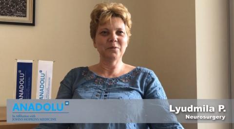 Людмила П- неврохирургия