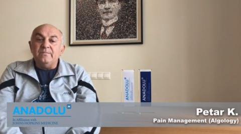 Петър К- Алгологично лечение (Контрол над Болката)