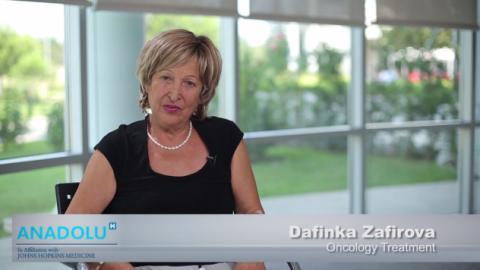 Дафинка З. - Онкологично лечение