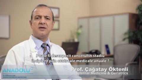 Control Medical pentru detectia Cancerului