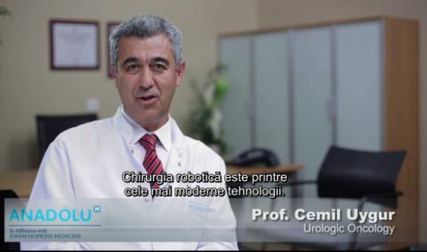 Chirurgie robotica in urologie