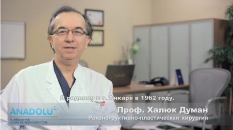 Д.м.н. Проф. Халюк Думан - CV