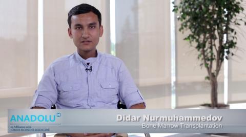 Дидар Н. - Туркменистан - Трансплантация Костного Мозга