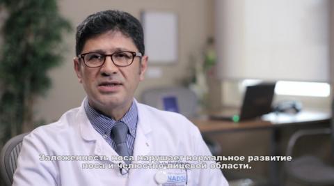Операция на носовой перегородке у детей