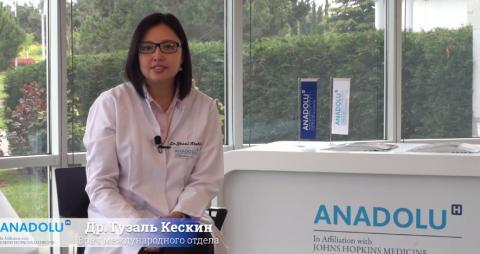 Др. Гузаль Кескин - как получить «второе мнение» врачей Anadolu