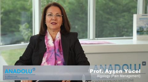 M.D. Prof. Ayşen Yücel - Algology (Pain Management) Department