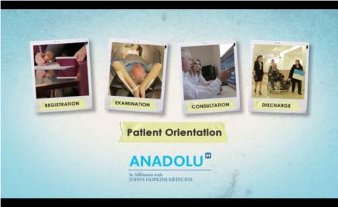 Anadolu Medical Center Outpatient Orientation