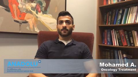 Mohamed A.- Oncology Treatment